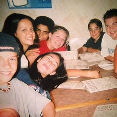 Flashback of the old Degrassi next Generation cast<3