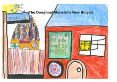 The Doughnut Monster's New Bicycle - storyboard that was turned into a short movie https://www.youtube.com/watch?v=qvwYl0f_rrk