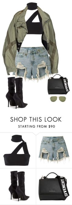 """""""Untitled #212"""" by giorpam ❤ liked on Polyvore featuring ONIA, R13, Balenciaga, Givenchy and Yves Saint Laurent"""
