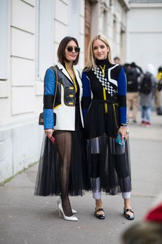 Plaid Was the Street Style Theme on Day 7 of Paris Fashion Week - Fashionista