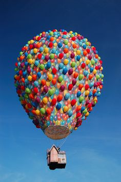 Image result for hot air balloon from Up