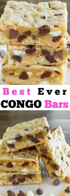 Congo Bars! A vintage dessert bar that no one can resist!