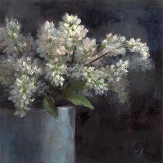 DPW Original Fine Art Auction - Lilacs - © Linda Jacobus