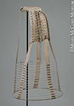 Hoop crinoline, 1869-1872. The McCord Museum