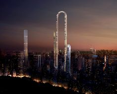 """Gallery of """"The Big Bend"""" Imagines the World's Longest Skyscraper for Billionaires' Row in NYC - 2"""
