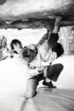 Training to Become a Better Climber - Part 5.  And this pic is just adorable.