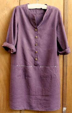 Merchant And Mills Patterns Easy Sewing Patterns, Clothing Patterns, Dress Patterns, Linen Dress Pattern, Merchant And Mills, Diy Fashion, Ideias Fashion, Linen Dresses, Simple Dresses