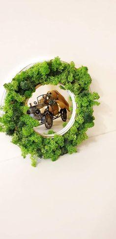 Mirorr- Home decor with lichens 29 cm size Avocado Toast, Handmade, Home Decor, Homemade Home Decor, Hand Made, Craft, Decoration Home, Interior Decorating