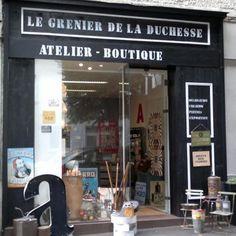 Le grenier de la duchesse // 15 avenue de Sainte Anne 44000 Nantes (jeudi & vendredi 12h-17h samedi 11h-13h/16h-19h)