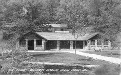 Bennett Spring State Park Real Photo Postcards