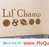 Lil' Champ Baby Brother - http://myquotesgarden.com/lil-champ-baby-brother/