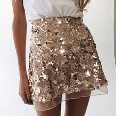 ArtSu Gold Sequin Mesh Mini Skirts Womens Christmas Chic High Waist Skirt Zipper Casual Short Party Beach Black Skirt ASSK20005-in Skirts from Women's Clothing & Accessories on Aliexpress.com | Alibaba Group