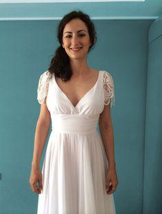 bridal gown by madame shoushou