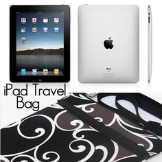 iPad Bag Netbook Bag iPad Case iPad Sleeve iPad by BorsaBella, $44.00