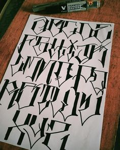 – Graffiti World Chicano Tattoos Lettering, Tattoo Lettering Alphabet, Tattoo Word Fonts, Tattoo Lettering Styles, Graffiti Lettering Fonts, Graffiti Tattoo, Lettering Design, Alfabeto Tattoo, Tattoo Letras