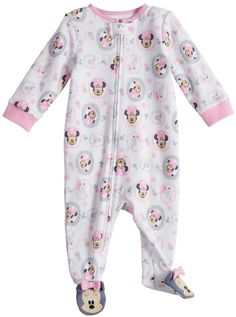 Send your little girl off to dreamland in the sweet style of this girls' Minnie Mouse sleep and play from Disney. Newborn Girl Outfits, Toddler Girl Outfits, Teen Outfits, Cheap Kids Clothes, Babies Clothes, Kylie Baby, Baby Mouse, Minnie Mouse, Toddler Themes