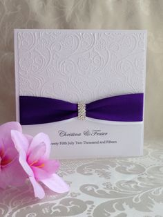 Hand made wedding invitations. Look at our Facebook page. JT-Hand made cards