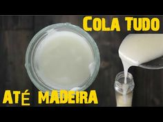 Cola Caseira Super Resistente:Cola até Madeira - YouTube Decoupage, Activities For Kids, Diy And Crafts, Clay, How To Make, Handmade, Food, Youtube, Paper Craft Supplies