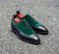 Oxford Green Suede Black Genuine Leather Derby Toe Lace Up Handmade Dress Shoes sold by fineleather. Shop more products from fineleather on Storenvy, the home of independent small businesses all over the world. Lace Up Shoes, Black Shoes, Dress Shoes, Black Oxfords, Brogues, Loafers, Derby, Suede Leather Shoes, Black Leather