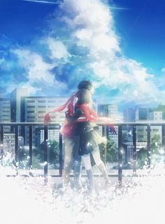 Mekaku City Actors - Ayano & Shintaro #AnimeCouples