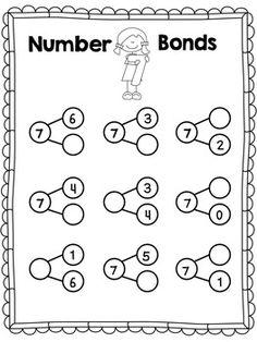 lembar belajar anak tk sd kelas 1 pola bilangan angka mengurutkan angka belajar anak pinterest