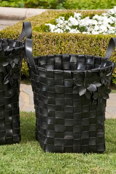 Carswell Recycled Tire Baskets - Set of 2 | Sponsored by Nordstrom Rack.