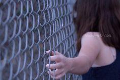 Linked metal fences