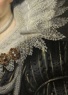 Portrait of a Lady (detail), Michiel Jansz. van Mierevelt, 1620