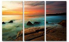 """Drieluik foto schilderij """"Natures Colors"""""""