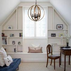 Attic Master Bedroom, Attic Bedroom Designs, Attic Bedrooms, Upstairs Bedroom, Bonus Room Bedroom, Bonus Room Playroom, Attic Craft Rooms, Dormer Bedroom, Attic Playroom