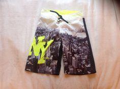 Nieuwe zwembroek gekocht bij de H&M.