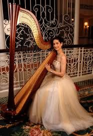 You're tellin me, having some lady playing harp in the corner of the room isn't cool?