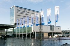 The Amsterdam RAI is a state-of-the-art location.
