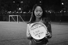 The BU women's ultimate frisbee team created a feminism photo essay that went viral in 2016.