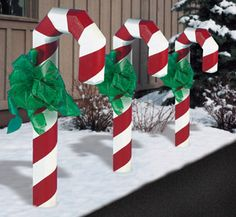 Landscape Timber Candy Cane Plans