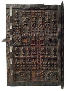Dogon Granary Door 45, Mali