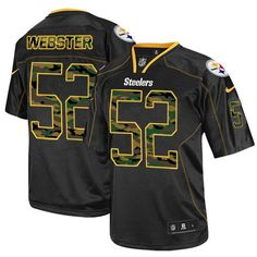 87cdd2e40 NFL Mens Elite Nike Pittsburgh Steelers  17 Mike Wallace Lights Out Black  Jersey 129.99 Ramon