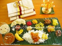 Happy Onam :Onam Festival is celebrated in the state of Kerala in South india.Onam signals the start of the harvest season Happy Onam Wishes, Onam Sadhya, Prawns Fry, India Holidays, We Are Festival, Indian Food Recipes, Ethnic Recipes, South Indian Food, Down South
