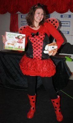 Ladybug Girl Book Character Costume Story Book Costumes, Storybook Character Costumes, Character Halloween Costumes, Storybook Characters, Girl Costumes, Costume Ideas, Book Character Day, Character Dress Up, Book Characters Dress Up
