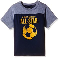 The Children's Place Baby Boys' T-Shirt (2066358_Tidal_12-18 Months)
