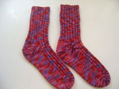 Hand knit Socks Custom Made for Marybeth by SpruceCottageKnits