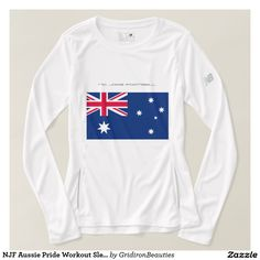 NJF Aussie Pride Workout Sleeve Tee
