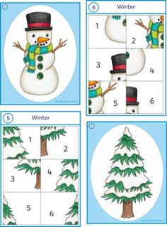 Different holidays and seasons. Christmas Activities, Winter Activities, Activities For Kids, Christmas Crafts, Winter Thema, Kindergarten Portfolio, Different Holidays, Theme Noel, Winter Crafts For Kids