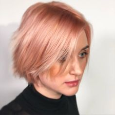 Peach hair with KC Luxima Pastels tones. Peach Hair, Cut And Color, Hair Color, Pastels, Inspiration, Instagram, Colourful Hair, Biblical Inspiration, Haircolor