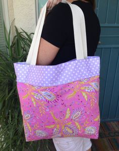 Tote bag Beach bag Reversible tote bag Travel by SweetMagnoleah, $25.00
