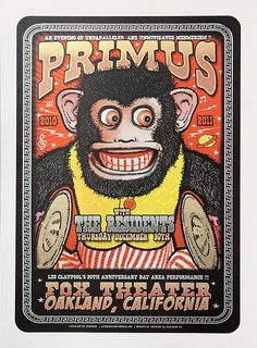Primus, The Residents New Years Eve – Fox Theater, Oakland, CA – by Zoltron