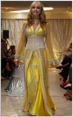 Moroccan caftan with the corset