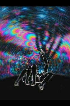 psychedelic, couple, and drugs image COLOUR! Psychedelic Art, Trippy, Acid Art, Psy Art, Foto Art, Art Plastique, Oeuvre D'art, Iphone Wallpaper, Acid Wallpaper
