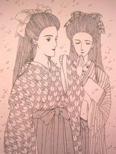 恐れ多くも!ほんと恐れ多くもッ!内田クンのイラストをモチーフとして拝借してしまったのですよね(汗)はぁ~今となっては恥部だなぁ(滝汗)一応自分としては懐かしいし頑張って描いてたんだなぁ(笑)