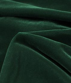 Shop Fairvel Dark Green Micro Velvet Fabric at onlinefabricstore.net for $22.05/ Yard. Best Price & Service.